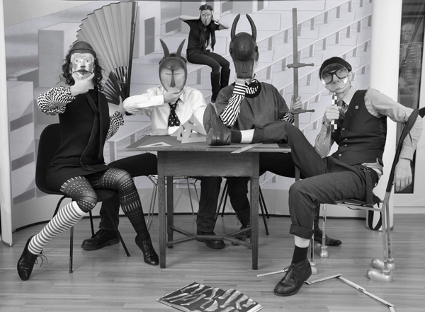 Artists and Curators, Masked